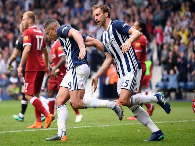 Salomon Rondon strikes late to rescue point for West Brom as Liverpool stumble ahead of Roma visit