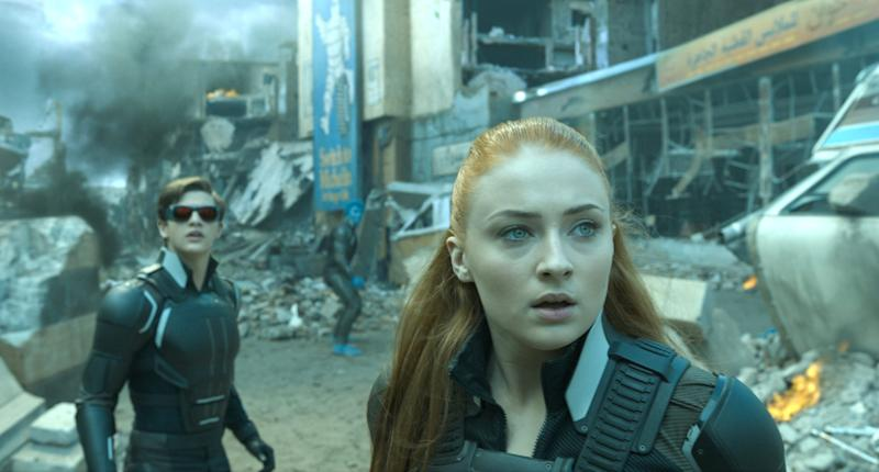Tye Sheridan and Sophie Turner in 'X-Men: Apocalypse' (credit: 20th Century Fox)