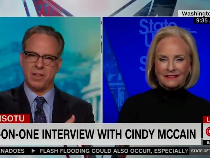 <p>Cindy McCain calls recount of 2020 election results in Arizona 'ludicrous' </p> (CNN)