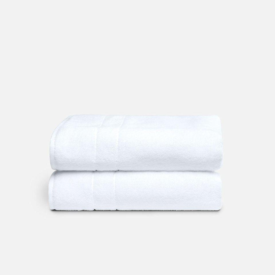 """<p><strong>Brooklinen</strong></p><p>brooklinen.com</p><p><a href=""""https://go.redirectingat.com?id=74968X1596630&url=https%3A%2F%2Fwww.brooklinen.com%2Fproducts%2Fsuper-plush-bath-towel-bundle&sref=https%3A%2F%2Fwww.bestproducts.com%2Fhome%2Fg36230872%2Fbrooklinen-birthday-sale-april-2021%2F"""" rel=""""nofollow noopener"""" target=""""_blank"""" data-ylk=""""slk:Shop Now"""" class=""""link rapid-noclick-resp"""">Shop Now</a></p><p><strong>Starting Sale Price: $86.40</strong></p><p>We're not kidding when we say that Brooklinen's Super-Plush Bath Towels are <a href=""""https://www.bestproducts.com/home/a14480154/reviews-best-bath-towels-sets/"""" rel=""""nofollow noopener"""" target=""""_blank"""" data-ylk=""""slk:the best we've ever used"""" class=""""link rapid-noclick-resp"""">the best we've ever used</a>. Somehow, these have survived years of intense laundromat washing without any deterioration in their soft and absorbent quality. The 820 GSM weight sounds like they'd be heavy, but they're woven in a way to make them feel surprisingly airy.</p><p>This particular bundle comes with two bath towels, two hand towels, and a bath mat, though there are multiple size and color permutations of <a href=""""https://go.redirectingat.com?id=74968X1596630&url=https%3A%2F%2Fwww.brooklinen.com%2Fcollections%2Fsuper-plush-towels&sref=https%3A%2F%2Fwww.bestproducts.com%2Fhome%2Fg36230872%2Fbrooklinen-birthday-sale-april-2021%2F"""" rel=""""nofollow noopener"""" target=""""_blank"""" data-ylk=""""slk:these incredible towels"""" class=""""link rapid-noclick-resp"""">these incredible towels</a> available.</p>"""