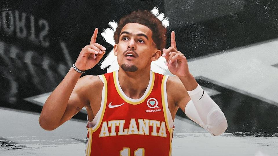 Trae Young Treated