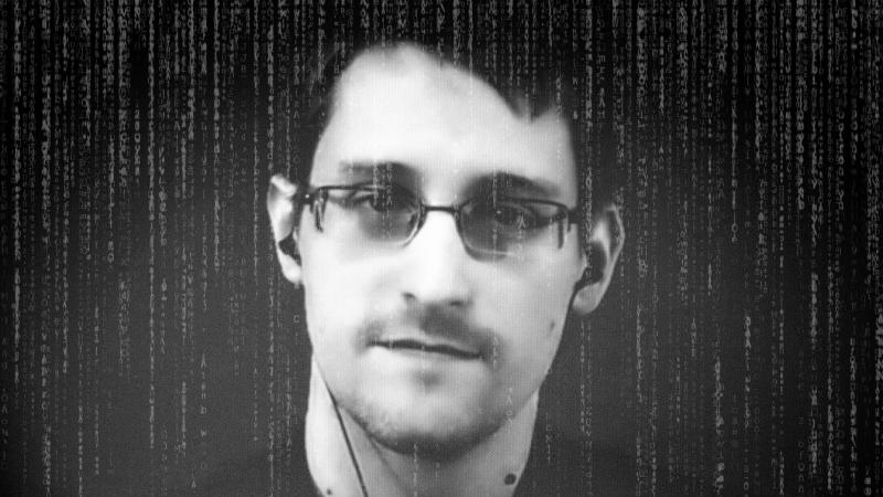 Edward Snowden. (Photo illustration: Yahoo News; photos: Charles Platiau/Reuters, Getty Images)