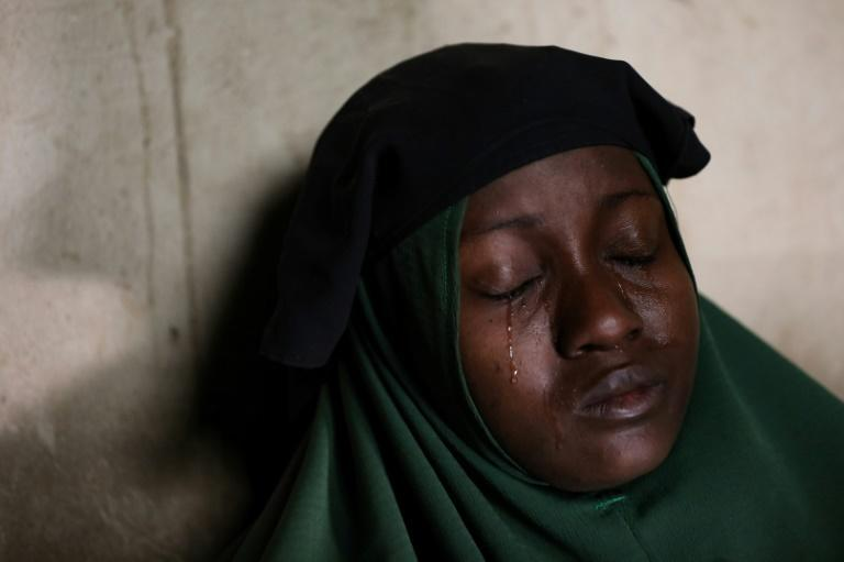 Humaira Mustapha's two daughters were kidnapped at the Government Girls Secondary School in Jangebe