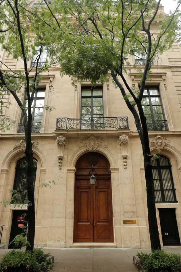 Maria Farmer, who has accused Jeffrey Epstein of sexually assaulting her, said the late billionaire had a video surveillance room at his Manhattan home (pictured) that would monitor his bedrooms and bathrooms.