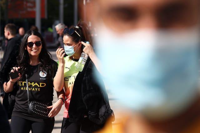 Mask wearing in public settings is expected to no longer be legally enforced after July 19