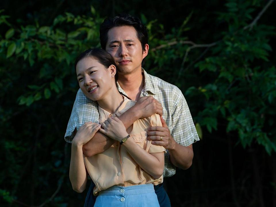 Yeri Han and Steven Yeun in 'Minari'Altitude