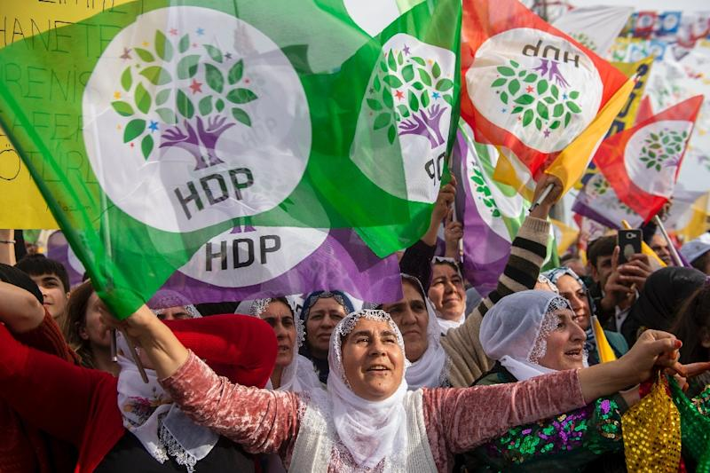 The pro-Kurdish HDP party has been weakened by the arrests of some of its lawmakers and leader on terrorism charges