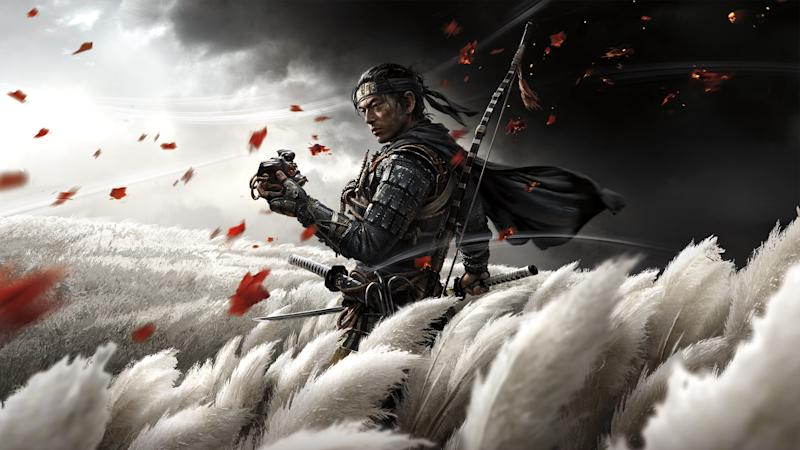 'Ghost of Tsushima' serves as a fitting send-off for Sony's PlayStation 4 era, packing beautiful visuals and a powerful story. (Image: Sony)