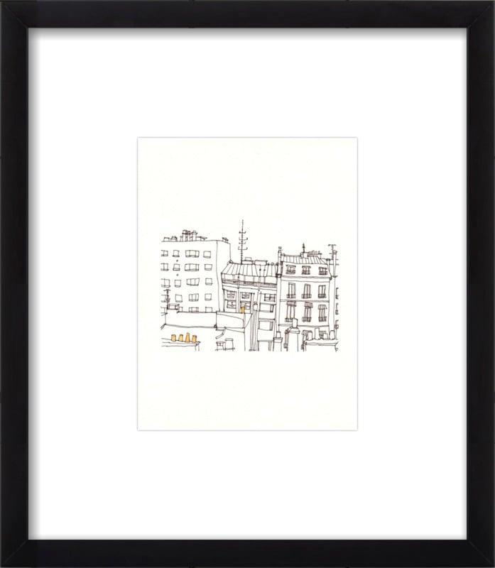 <p>This simple but charming <span>Paris Print</span> ($102) from Artfully Walls is a favorite.</p>