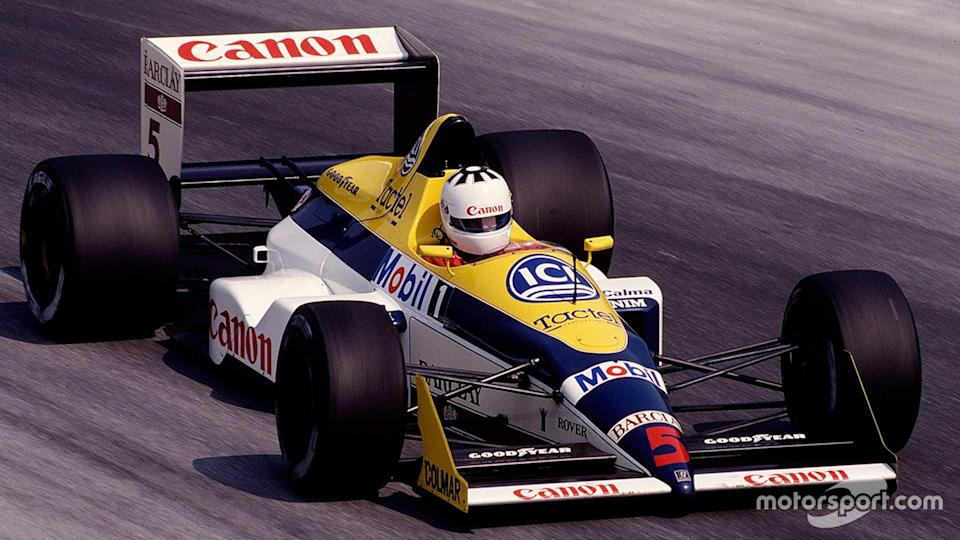 Jean-Louis Schlesser in Williams FW12 at Italian GP 1988