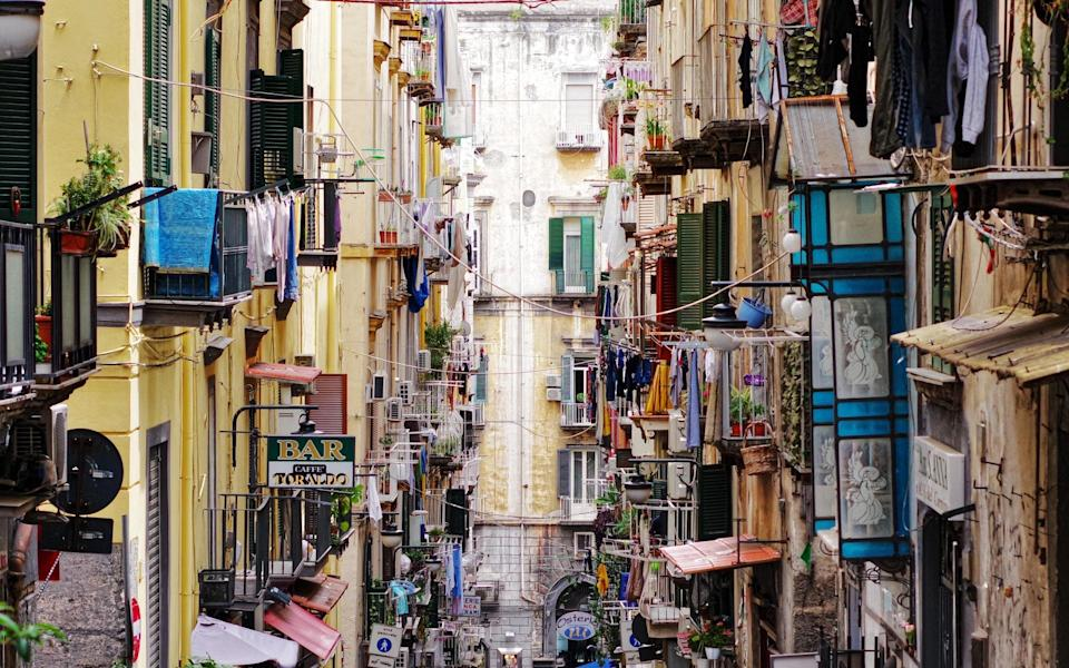 Naples: chaotic - Getty