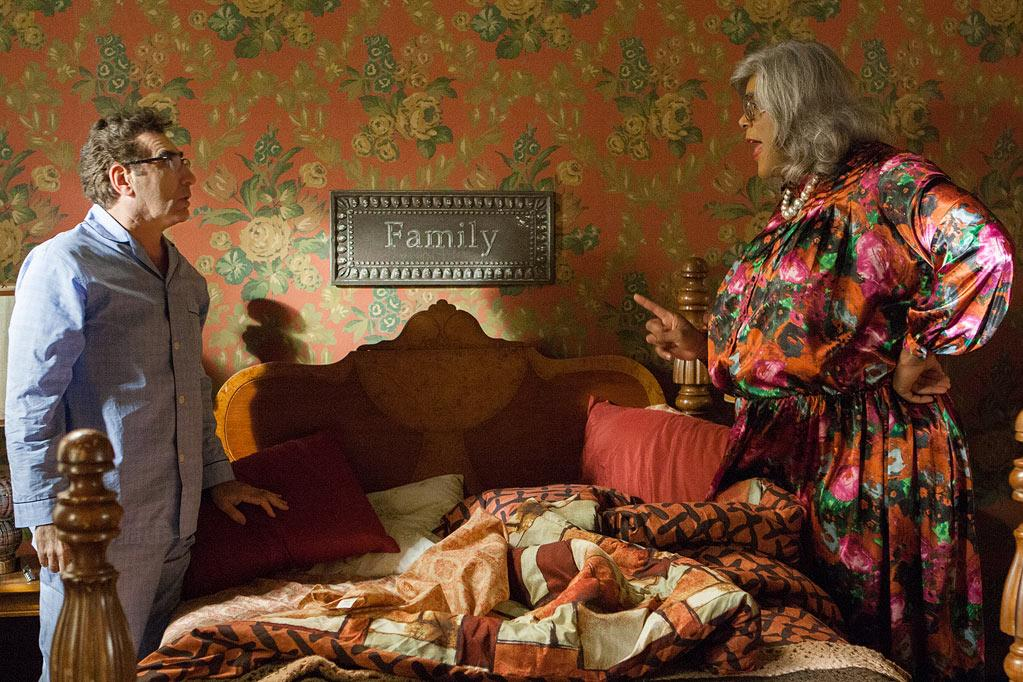 "Eugene Levy and Tyler Perry in Lionsgate's ""Tyler Perry's Madea's Family Reunion"" - 2012"