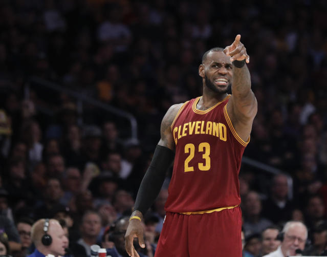 People are willing to pay a lot of money to watch LeBron James play for the Lakers. (AP Photo/Jae C. Hong)
