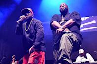 <p>Big Boi and Killer Mike take the stage during night 3 of Big Night Out ATL on Sunday in Atlanta. </p>