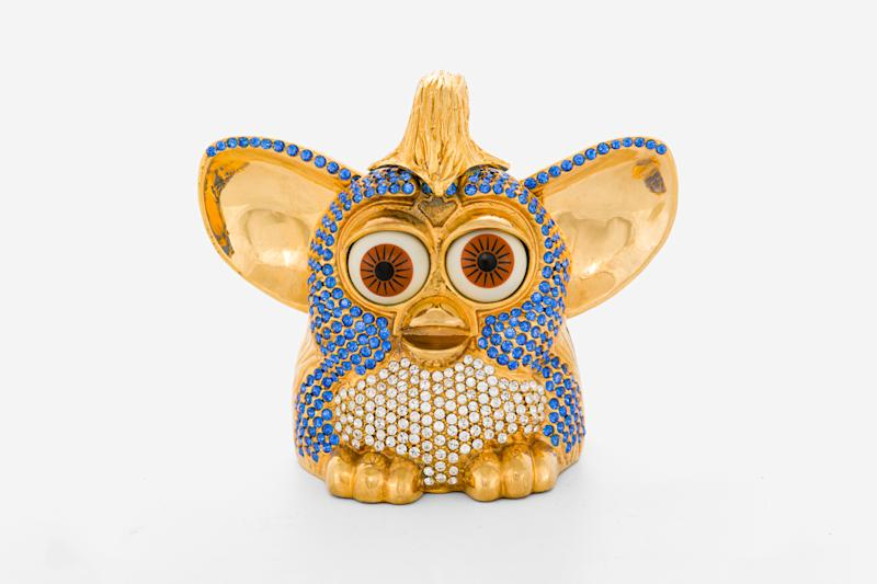 A diamond-encrusted Furby from 'Uncut Gems' (Photo: A24 Auctions)