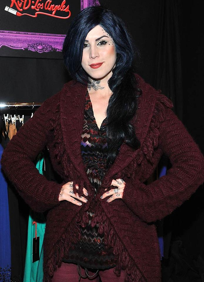 """March 8: Kat Von D turns 29 Henry S. Dziekan III/<a href=""""http://www.gettyimages.com/"""" target=""""new"""">GettyImages.com</a> - February 20, 2011"""