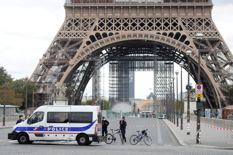 Eiffel Tower reopens after bomb hoax