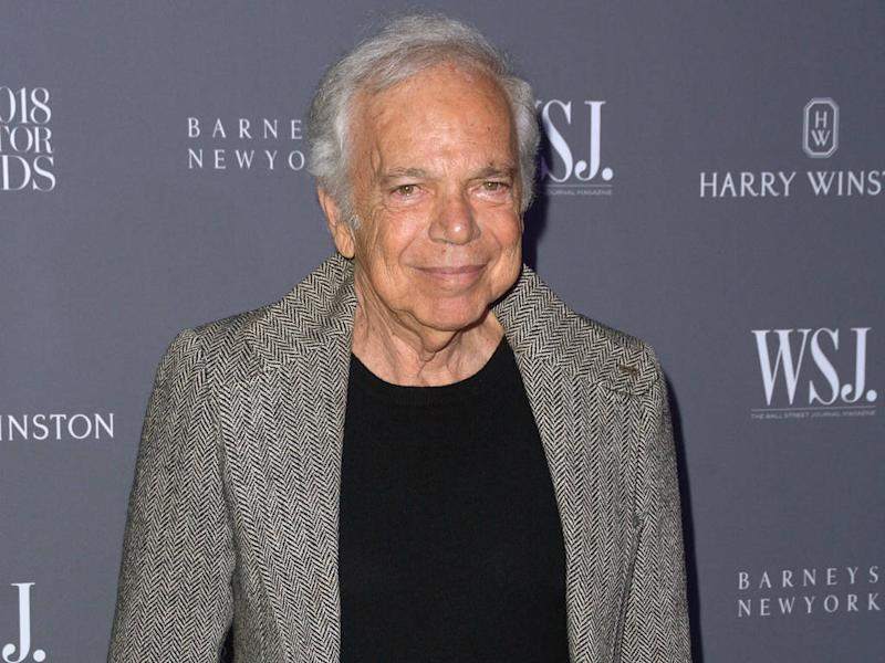 Ralph Lauren apologises for using black fraternity symbol on trousers
