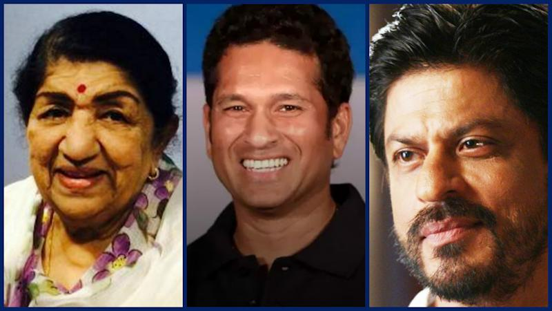 Lata Mangeshkar & Shah Rukh Tweet; Sachin Replies With Usual Grace