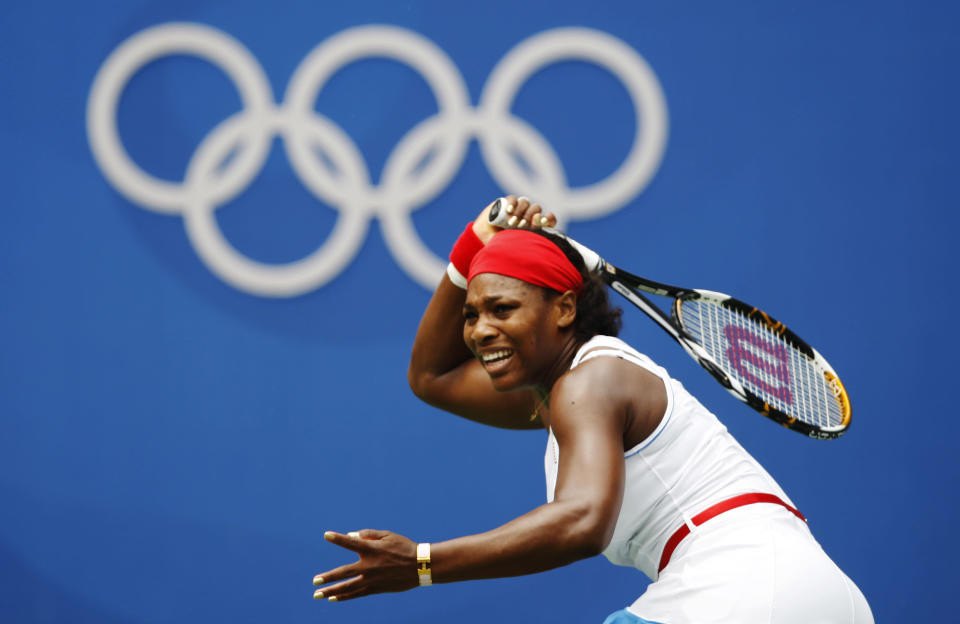 Serena Williams will play in the U.S. Open. (Photo by Ian MacNicol/Getty Images)