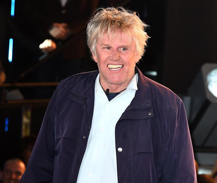 """<p>Actor Gary Busey has featured on Celebrity Apprentice and was fired by Trump on the show, but has adored him for a while. 'He's a great guy. He's sharp. He's fast,' Busey said to <a rel=""""nofollow noopener"""" href=""""http://www.foxnews.com/entertainment/2015/09/15/donald-trump-gets-coveted-gary-busey-endorsement-ahead-big-debate/"""" target=""""_blank"""" data-ylk=""""slk:Fox411"""" class=""""link rapid-noclick-resp"""">Fox411</a>. 'He can change the country after the last eight years.' (PA) </p>"""