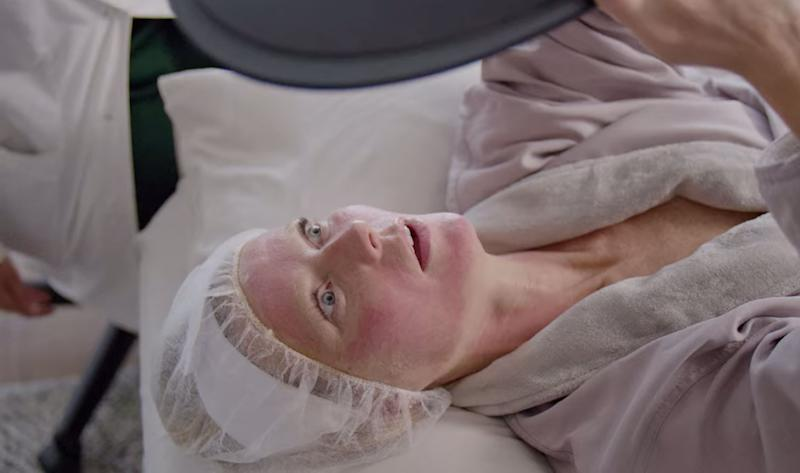 "Gwyneth Paltrow getting a PRP (or platelet rich plasma) facial on an episode of Netflix's ""Goop Lab."" (Screenshot: Netflix)"
