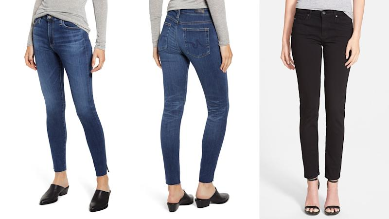 These jeans from AG have incredible shape retention and can offer a super flattering silhouette.
