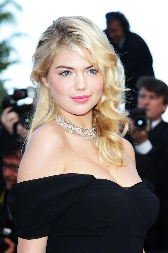 "CANNES, FRANCE - MAY 23:  Kate Upton attends the ""On The Road"" Premiere during the 65th Annual Cannes Film Festival at Palais des Festivals on May 23, 2012 in Cannes, France.  (Photo by Vittorio Zunino Celotto/Getty Images)"