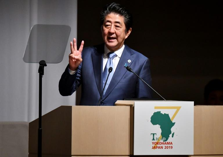 Japan's Prime Minister Shinzo Abe has cautioned African countries about taking on too much debt