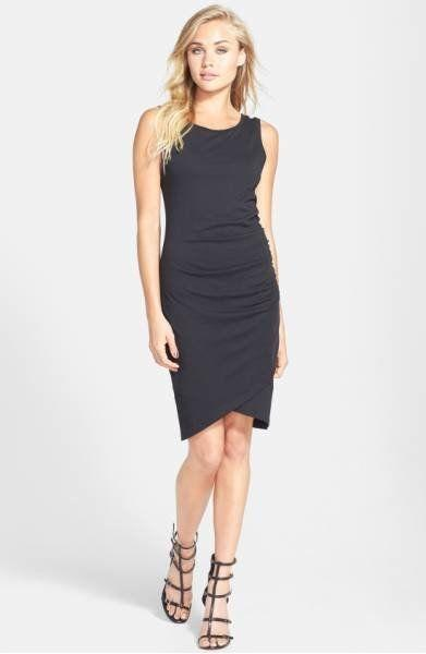 """Get it at <a href=""""http://shop.nordstrom.com/s/leith-ruched-body-con-tank-dress/3741346?origin=shoppingbag"""" target=""""_blank"""">Nordstrom</a>."""