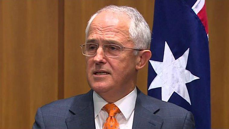 Malcolm Turnbull has promoted 'stability' on the last day of his campaign. Photo: AAP