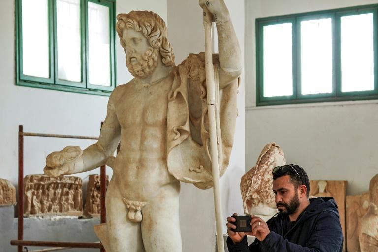 The Cyrene Museum is home to artefacts from ancient Greek inhabitation and Roman times