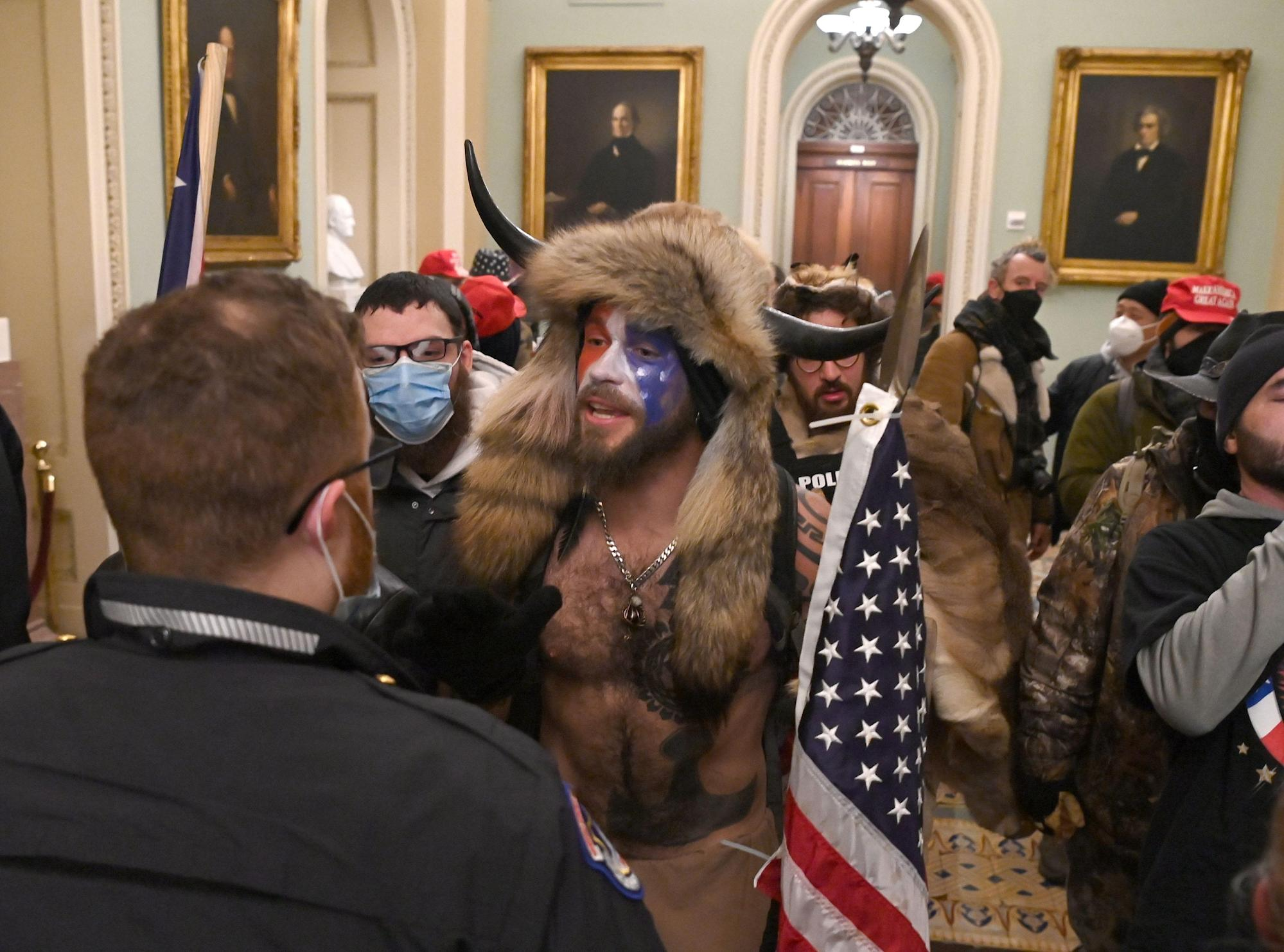 How had been pro-Trump rioters capable of breach Capitol regulation enforcement?
