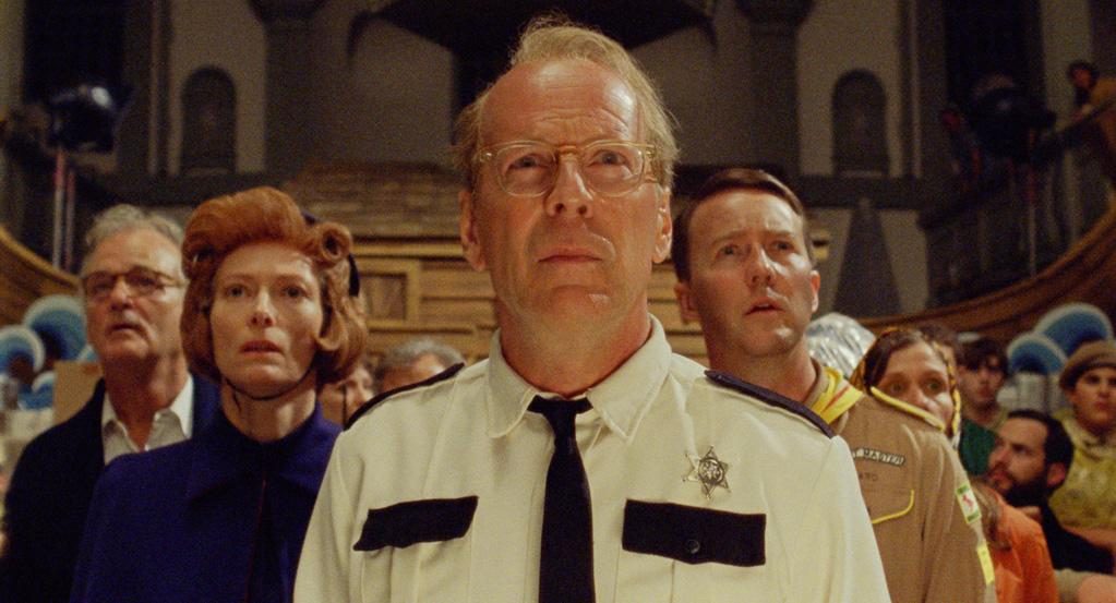 "Bruce Willis in Focus Features' ""Moonrise Kingdom"" - 2012"