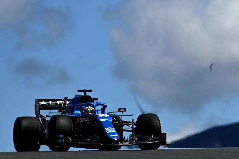 Alonso picked up points again for Alpine in Portugal