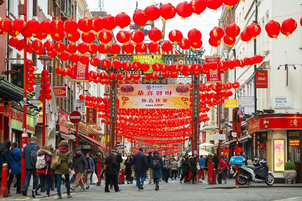 <p>Part of Shaftesbury's estate is in Chinatown in the West End</p> (Dominic Lipinski/PA)