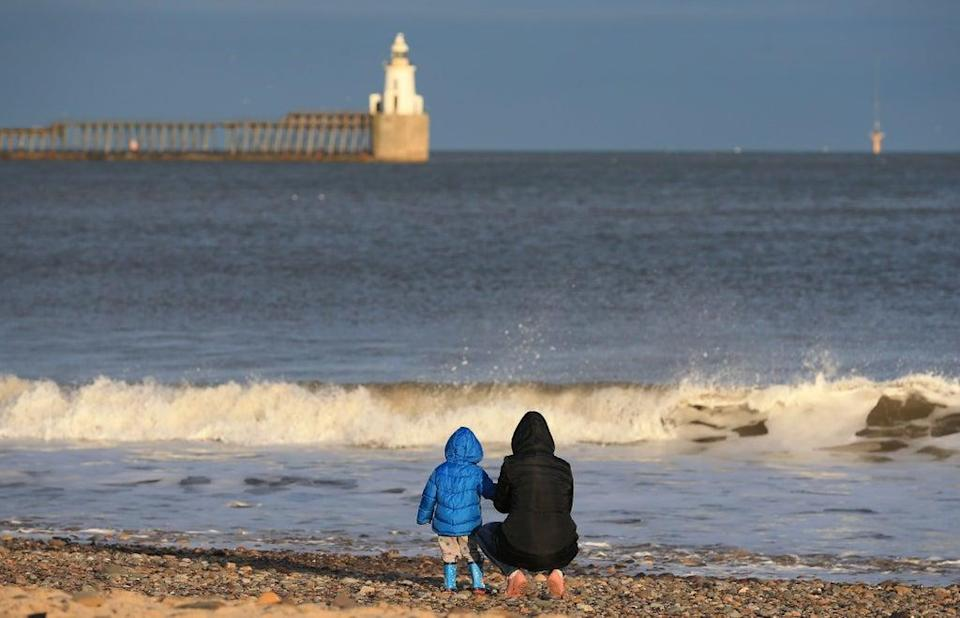 The interconnector links Blyth, Northumberland, to Norway through the North Sea  (AFP via Getty Images)