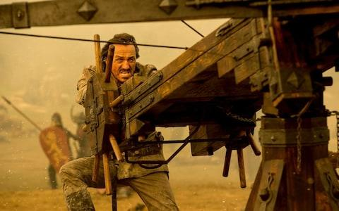Bronn and the scorpion weapon