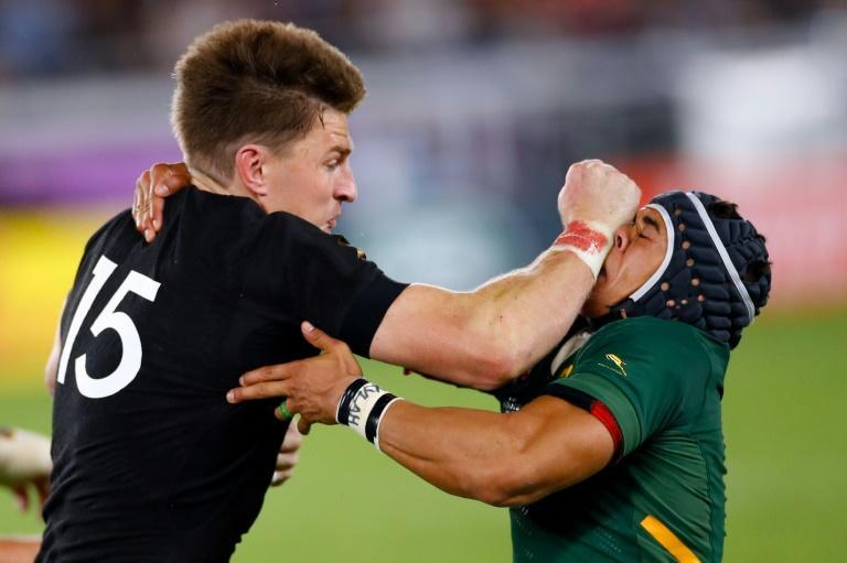 New Zealand and South Africa have an intense rivalry dating back a century (AFP/Odd ANDERSEN)