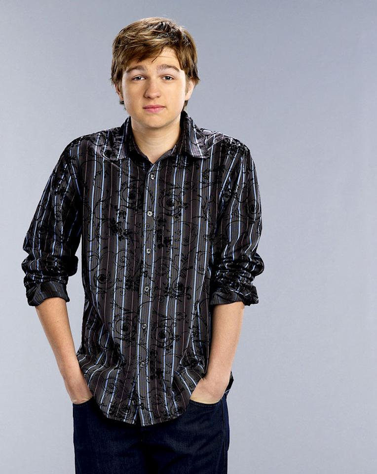 """Angus T. Jones stars as Jake Harper on """"Two and a Half Men."""""""