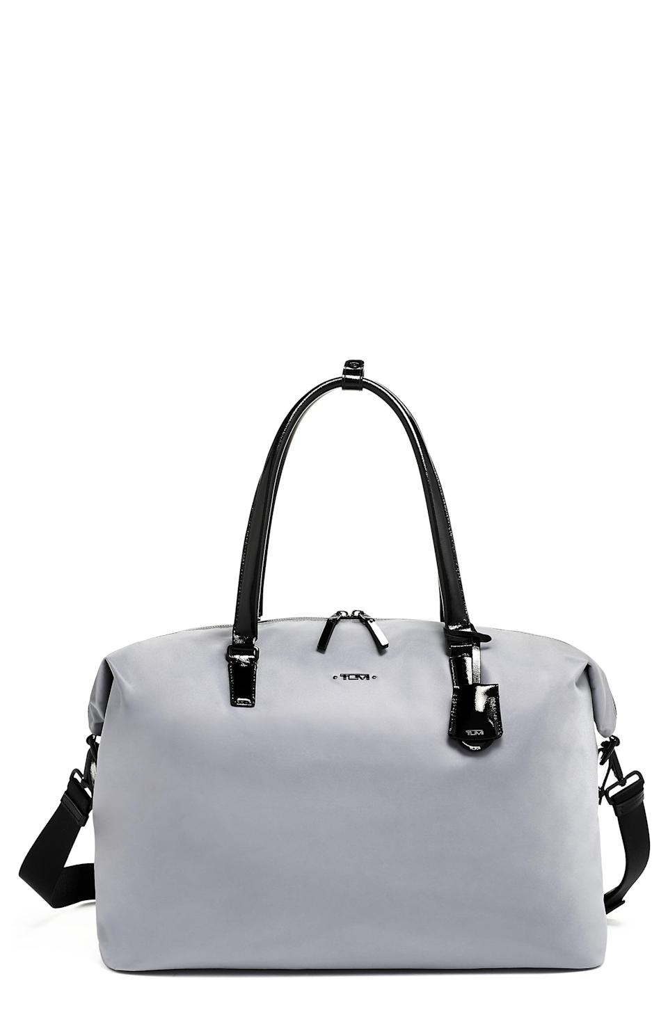 """<p><strong>Tumi</strong></p><p>nordstrom.com</p><p><a href=""""https://go.redirectingat.com?id=74968X1596630&url=https%3A%2F%2Fwww.nordstrom.com%2Fs%2Ftumi-wynne-duffle-bag%2F5867524&sref=https%3A%2F%2Fwww.esquire.com%2Fstyle%2Fmens-fashion%2Fg37002225%2Fnordstrom-anniversary-sale-mens-fashion-deals-2021%2F"""" rel=""""nofollow noopener"""" target=""""_blank"""" data-ylk=""""slk:Shop Now"""" class=""""link rapid-noclick-resp"""">Shop Now</a></p><p><strong>Sale: </strong><strong>$263.90</strong></p><p><strong>After Sale: $395.00</strong></p><p>The perfect duffle for weekends, long flights, or any other excursion you have this summer. </p>"""