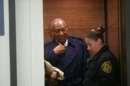 Actor and comedian Bill Cosby departs the Montgomery County Courthouse after his sexual assault retrial in Norristown