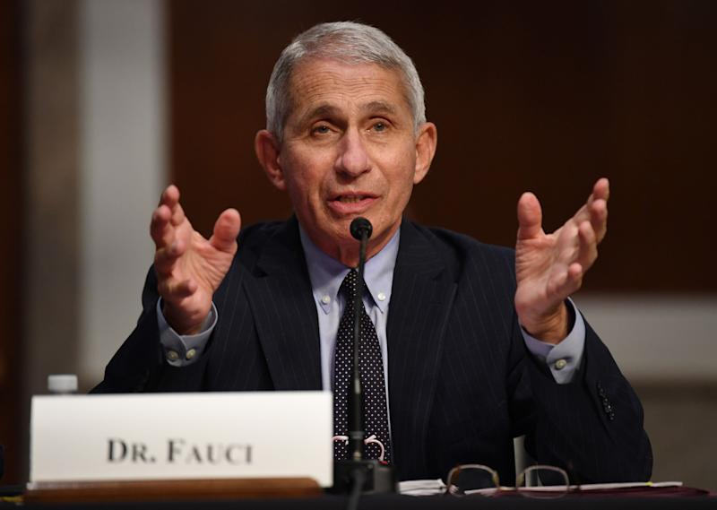 US Could Reach 100,000 Coronavirus Cases Per Day, Dr Anthony Fauci Warns