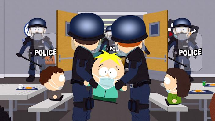 "Things don't go any better for Butters in ""Pandemic Special"" than they do in any other episode."