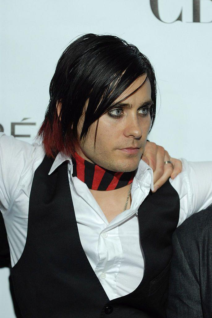 <p>Did you know Leto went through an emo phase? Unfortunately, this outdated style doesn't do the actor any favors.</p>
