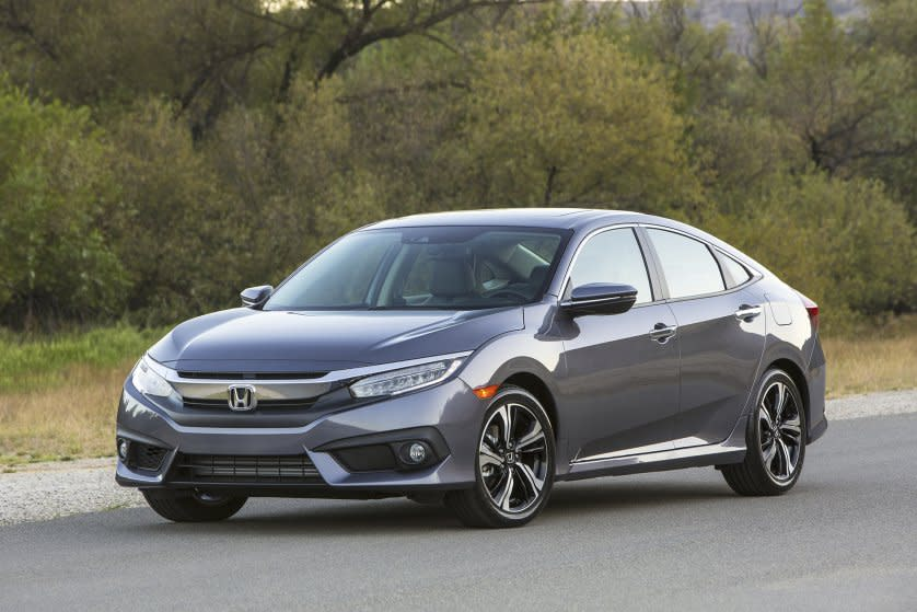 <p><b>Best Sedan:</b> The Honda Civic has appeared on Edmunds.com's Best Retained Value list four times since 2011, making it the best non-luxury sedan in terms of resale value. Over five years, the Civic depreciates by an average of 35%, compared to 60% depreciation for the typical vehicle. (Honda) </p>