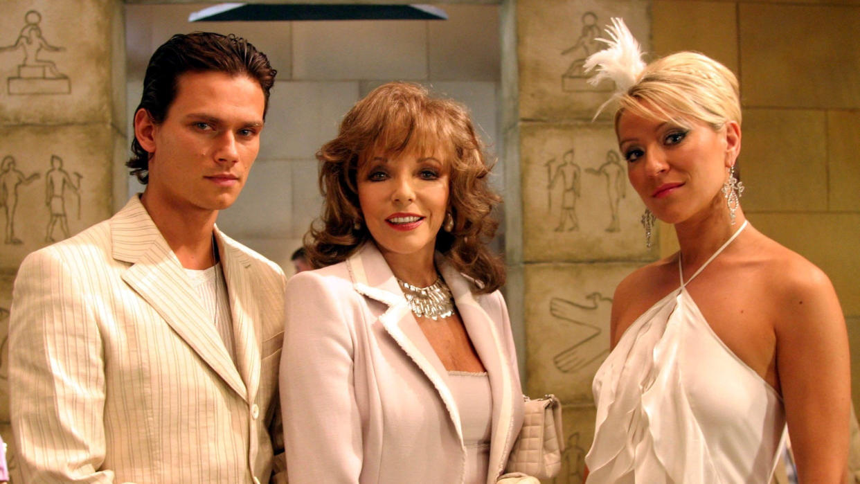 'Footballers' Wives' attracted eight million viewers every week at its most popular. (ITV)