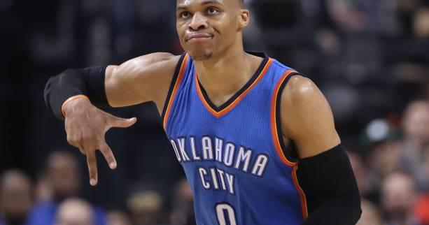 Basket - NBA - Le Top 10 de la nuit : le shoot impossible de Russell Westbrook