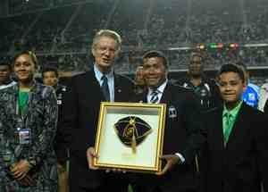 Waisale Serevi Inducted Into the IRB Hall of Fame in Hong Kong