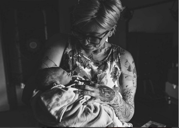 Orgasming During Childbirth Is a Real Thing – Just Ask Mom Angela Gallo